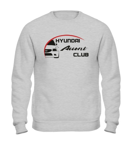 Свитшот Hyundai Accent Club