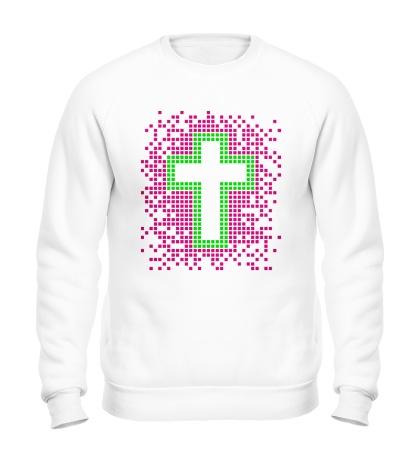 Свитшот Pixel Cross