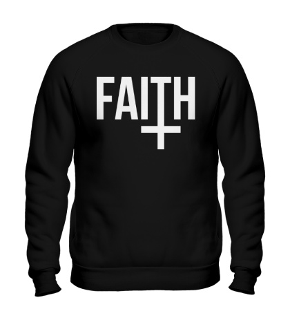 Свитшот Faith Cross