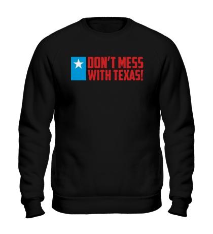 Свитшот With Texas