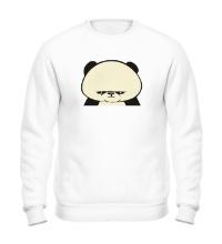 Свитшот Угрюмая панда, свет