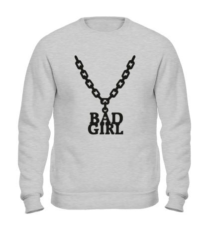 Свитшот Цепочка bad girl