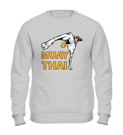 Свитшот Muay Thai Low Kick