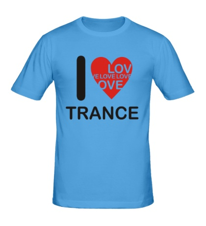 Мужская футболка Trance we Love