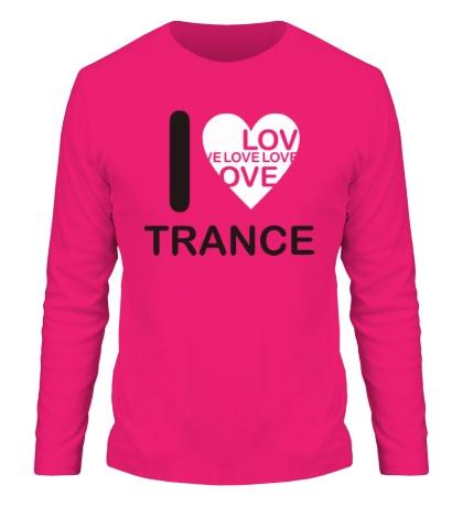 Мужской лонгслив Trance we Love