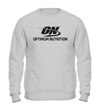Свитшот Optimum nutrition