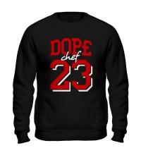 Свитшот Dope chef 23