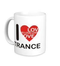 Керамическая кружка Trance we Love
