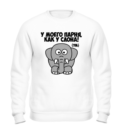 Свитшот Как у слона