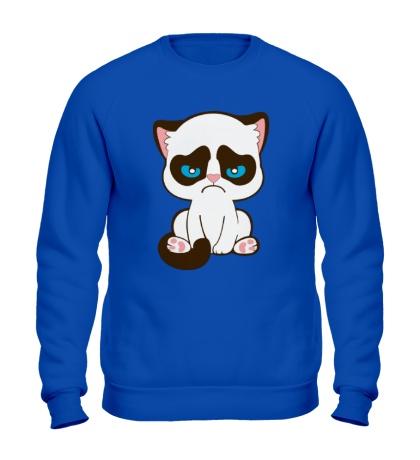 Свитшот Недовольный котенок