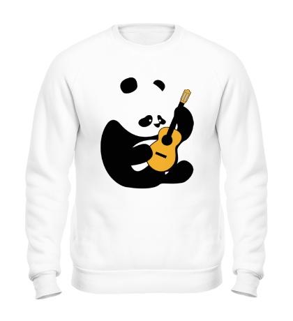 Свитшот Панда гитарист