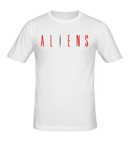 Мужская футболка Aliens
