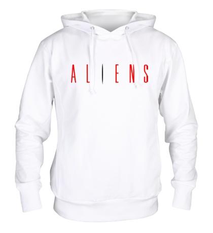 Толстовка с капюшоном Aliens