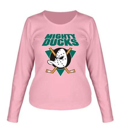 Женский лонгслив Anaheim Mighty Ducks
