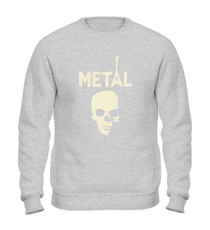 Свитшот Hardcore Metal Glow