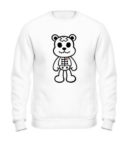 Свитшот Медвежонок зомби