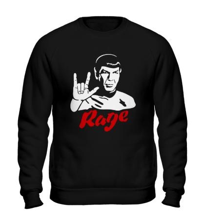 Свитшот Spock rage