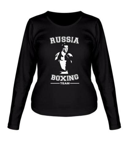 Женский лонгслив Russia Boxing Team
