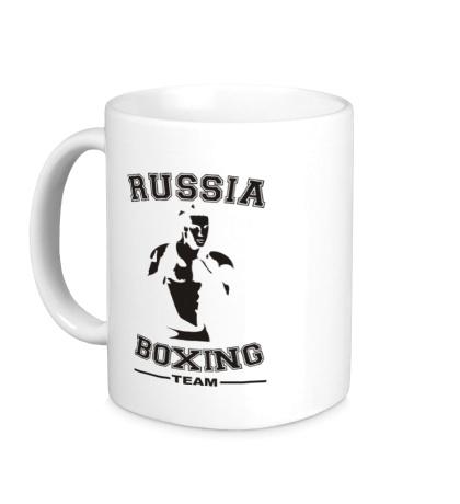 Керамическая кружка Russia Boxing Team