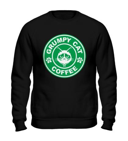 Свитшот Grumpy cat coffee