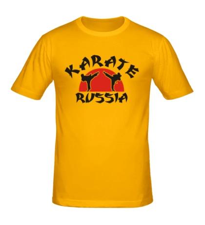 Мужская футболка Karate Russia