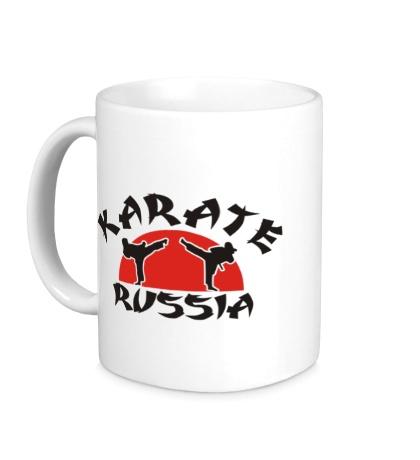 Керамическая кружка Karate Russia