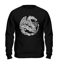 Свитшот Кельтский дракон