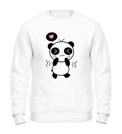 Свитшот Влюбленная панда мальчик