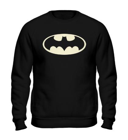 Свитшот Светящийся Бэтмен