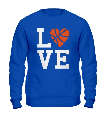 Свитшот Basketball Love