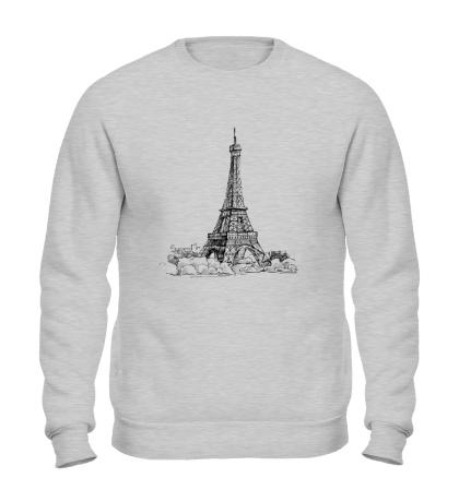 Свитшот Эйфелева башня