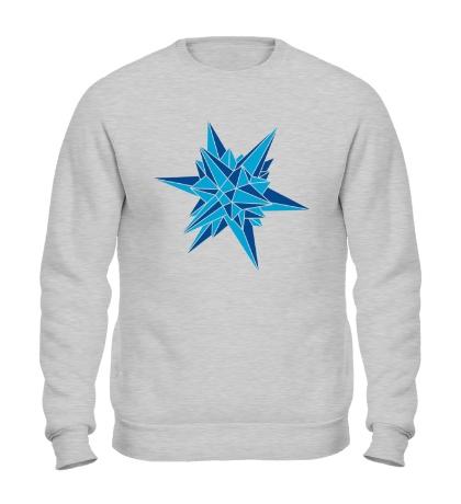 Свитшот Кристалическая звезда