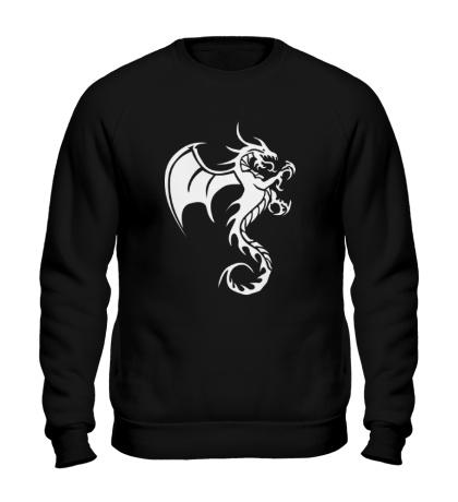 Свитшот Крылатый дракон
