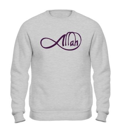 Свитшот Allah infinite