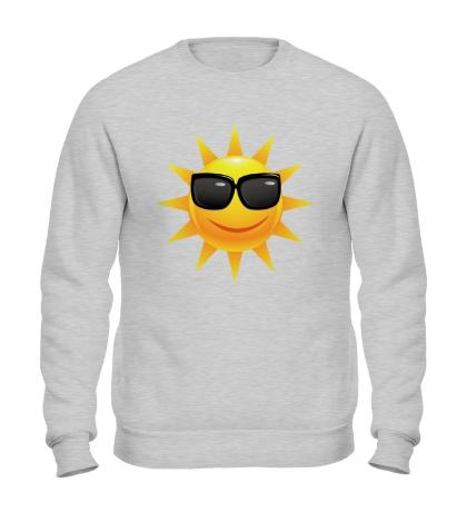 Свитшот Солнце в очках
