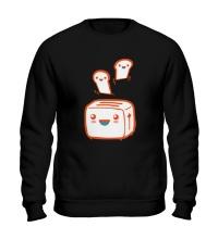 Свитшот Веселый тостер