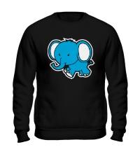 Свитшот Голубой слоник