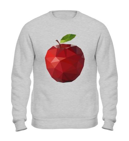 Свитшот Абстрактное яблоко