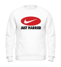 Свитшот Just do Married