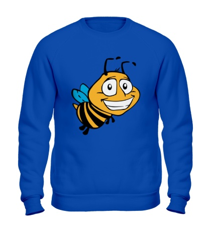Свитшот Улыбчивая пчелка