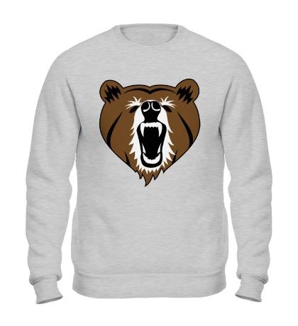 Свитшот Бурый медведь