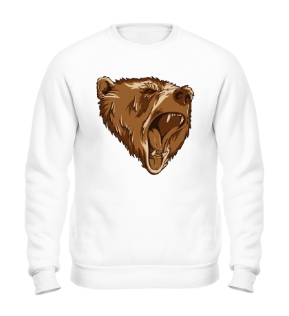 Свитшот Разъяренный медведь