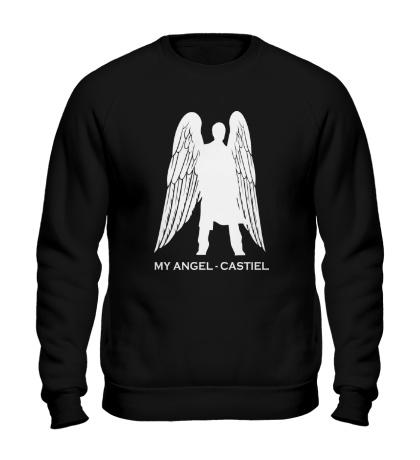 Свитшот My angel Castiel