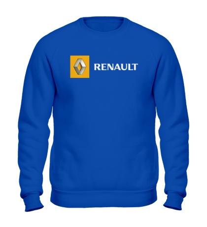 Свитшот Renault Line