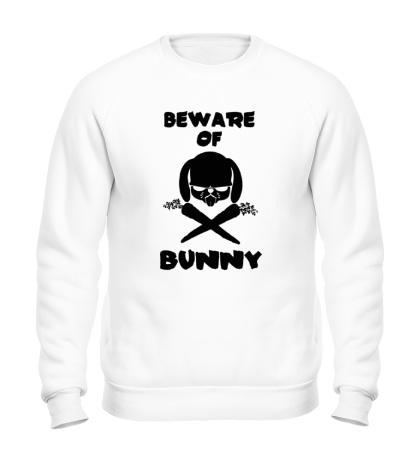 Свитшот Beware of Bunny