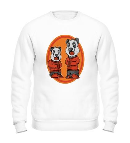 Свитшот Смешные панды
