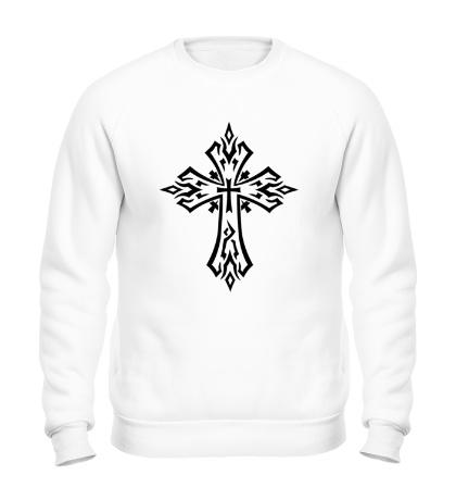 Свитшот Готический крест-тату