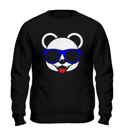 Свитшот Веселая панда в очках