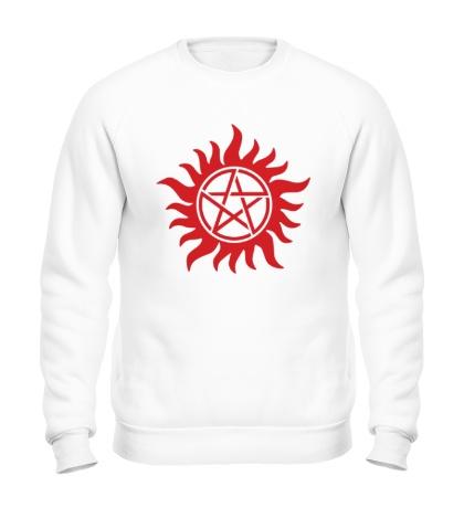 Свитшот Огненная пентаграмма