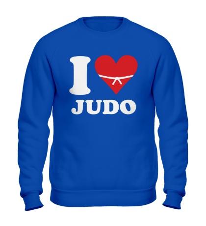 Свитшот I love Judo